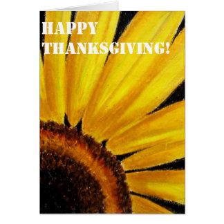 Carte de thanksgiving