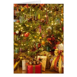 Carte de vacances de Noël