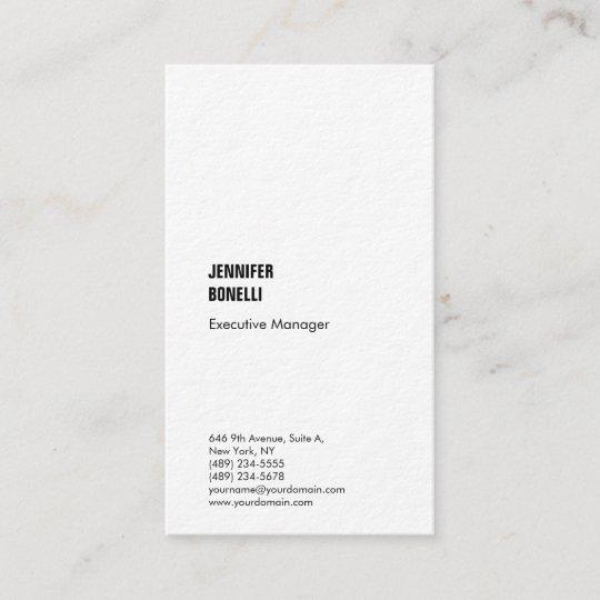 Carte De Visite La Mode Pais Moderne Minimaliste Simple