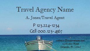 Carte De Visite Agence Voyages