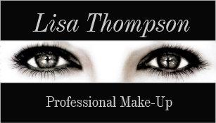 Carte De Visite Artiste Maquillage Professionnel Yeux Modles