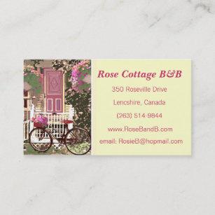Carte De Visite Chambre Dhote Location Assez Florales Cottage