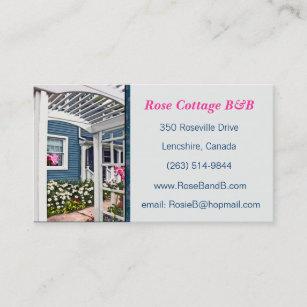 Carte De Visite Chambre Dhte Location Assez Florales Cottage