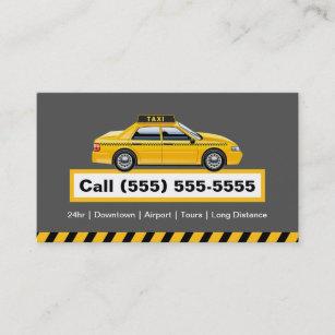 Carte De Visite Chauffeur Autoris Taxi