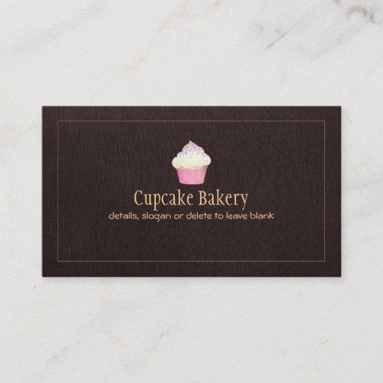 Carte De Visite Chef Ptisserie Boulangerie Restauration