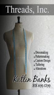 Carte De Visite Couturire Mannequin Ouvrire