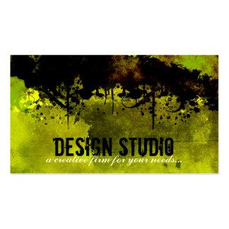 Carte de visite créatif de conception