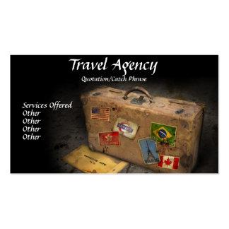 Carte de visite d agence de voyages