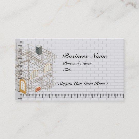 Carte De Visite Daffaires Darchitecture