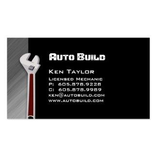 Carte de visite d'automobile/mécanicien automobile