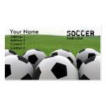 Carte de visite de ballons de football