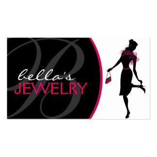 Carte de visite de concepteur de bijoux