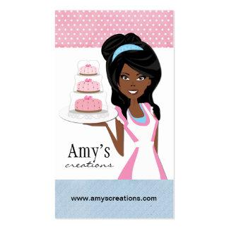 Carte de visite de concepteur de gâteau
