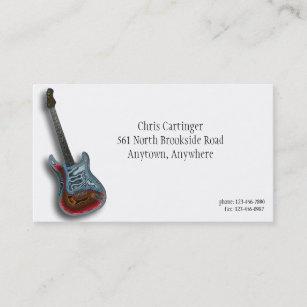 Carte De Visite Guitare