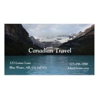 Carte de visite de Lake Louise