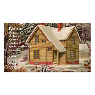 Carte de visite de Noël