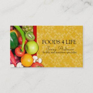 Carte De Visite Nutritionniste