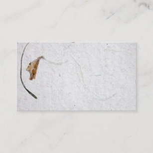 Carte De Visite Papier Vintage Brut Texture