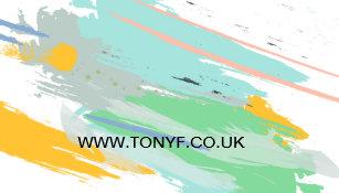 Carte De Visite Peintre Et Decorateur