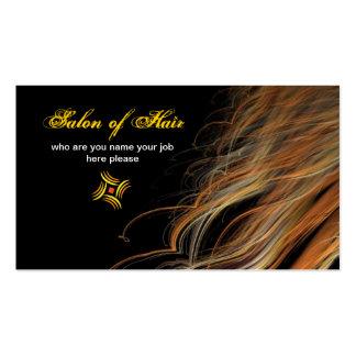 carte de visite de poils
