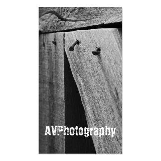 Carte de visite de rouillement de photographie de