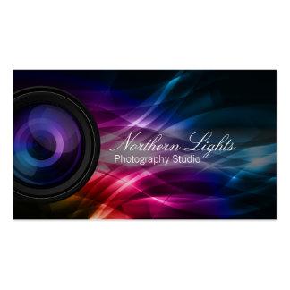 Carte de visite de studio de photographie de lumiè