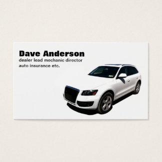 carte de visite de voiture