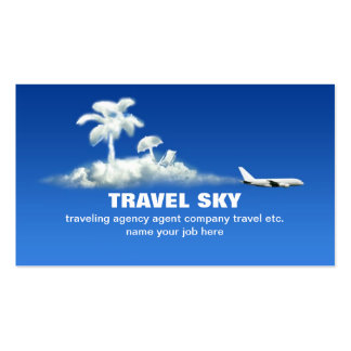carte de visite de voyage