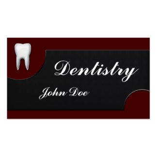 Carte de visite dentaire de dentiste élégant d art