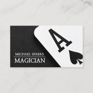 Carte De Visite Divertissement Magique Moderne Tisonnier