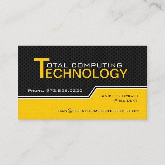 Carte De Visite Fait Sur Commande Technicien