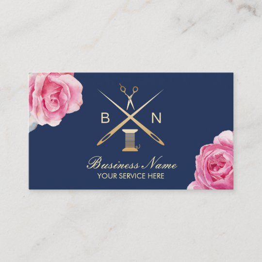 Carte De Visite Fil Douvriere Couturiere Et Cru Couture
