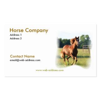 Carte de visite galopant de cheval