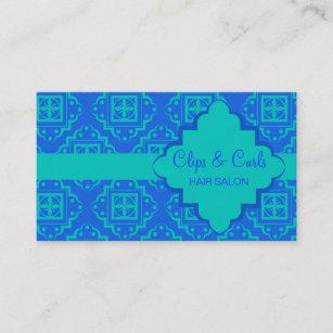 Carte De Visite Graphique Marocain Darabesque DAqua
