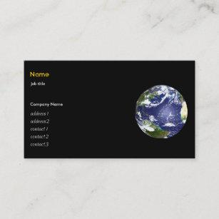 Carte De Visite La Terre Et Neuf Plantes