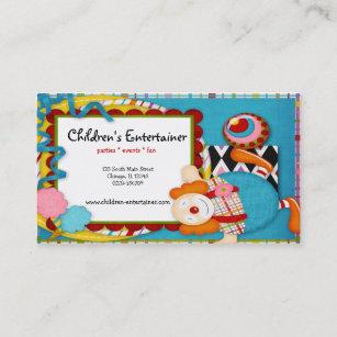 Carte De Visite Le Comique Des Enfants