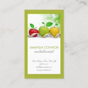 Carte De Visite Lentraneur Apple Nutrition Nutritionniste