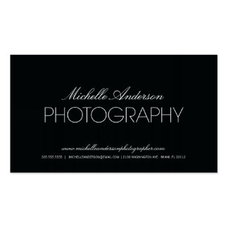 CARTE DE VISITE LISSE DE PHOTOGRAPHIE DU PHOTOGRAP