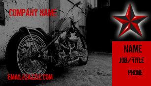Carte De Visite Magasin Moto