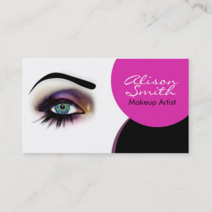 Carte De Visite Makeup Artist