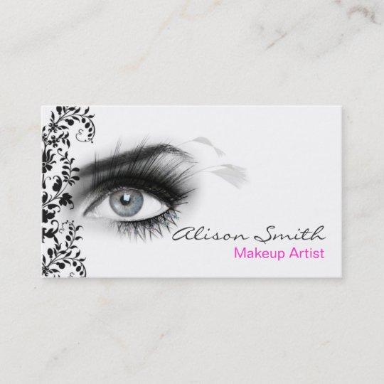Carte De Visite MakeUp Artist Business Card