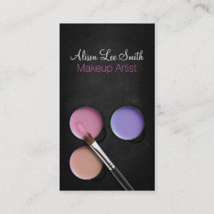 Carte De Visite Makeup Artist Palette