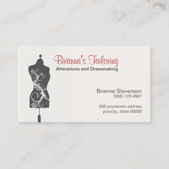 Carte De Visite Mannequin Douvrire Couturire