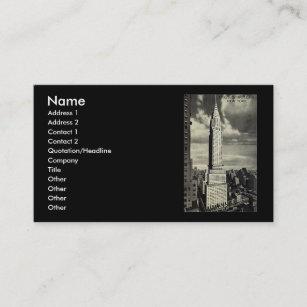Cartes De Visite New York City