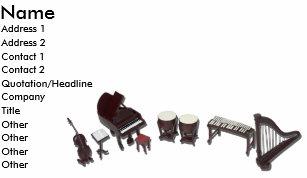 Carte De Visite OrchestraInstruments121210 Nom Adresse 1
