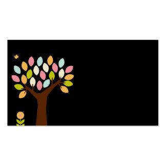 carte de visite pour le jardin d'enfants