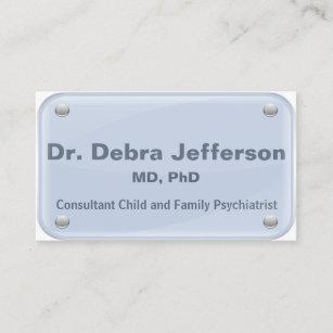 Carte De Visite Psychiatre
