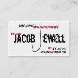 Carte De Visite Service Guide La Pche Jacob