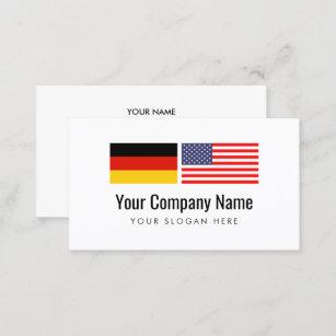 Carte De Visite Traducteur Allemand Langlais Des USA