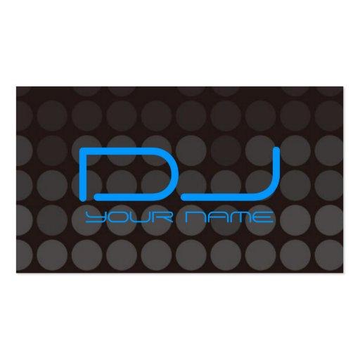 Carte de visite unique du DJ
